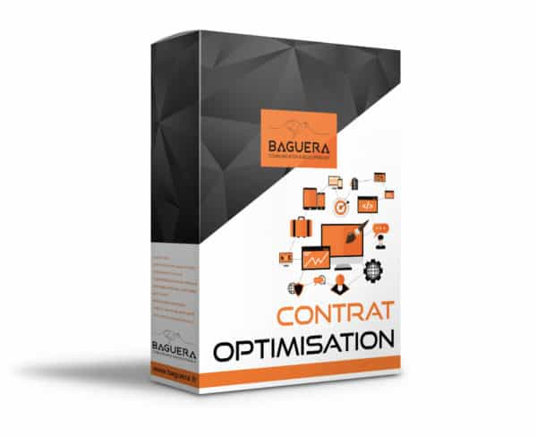 contrat OPTIMISATION par BAGUERA COMMUNICATION